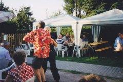 Gute Stimmung beim Tanz