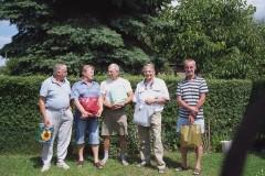 Die Gewinner des Skat Turniers 2005