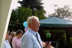 Verbandsvorsitzender Wolfgang Wölfert bei den Auszeichnungen