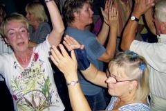 Ausgelassene Freude auf der Festveranstaltung