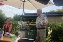 Danksagung des Vorstandes an Manfred Peters für die jahrelange engagierte Tätigkeit als Vorsitzender